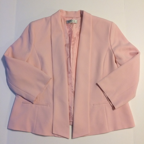 28a6e1980d7 Kasper Jackets   Blazers - Kasper Jacket Ladies Size 16 Pink Career Blazer
